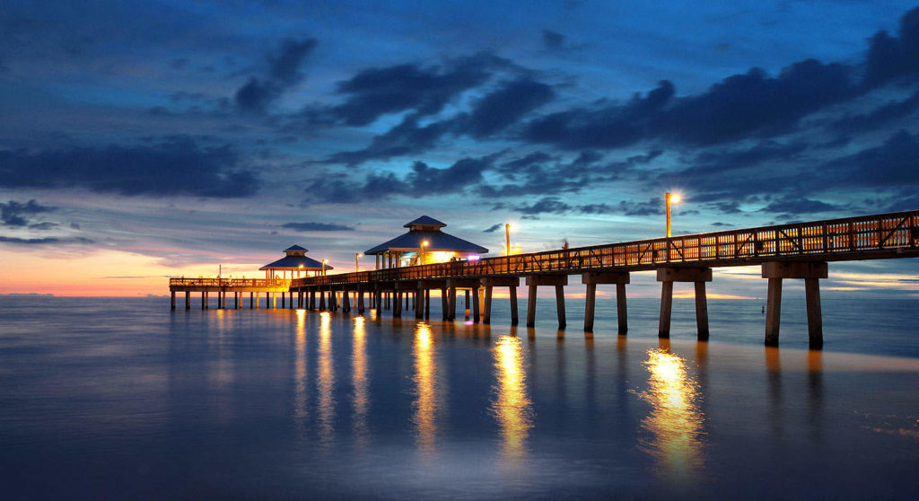fort-myers-beach-pier-image Веб камера Флорида, пляж Лодердейл-Бай-Те-Си Интересное